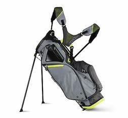 New Sun Mountain Golf- 2018 4.5 LS Stand Bag Gray/Gunmetal/F