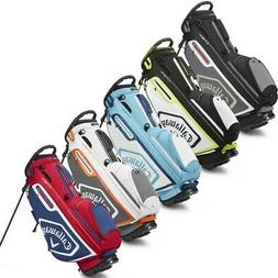 NEW Callaway Golf 2020 Chev Stand Bag 5-way Top - Pick the C