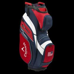 New Callaway Golf 2020 Org 14 Cart Bag COLOR: Red with Navy