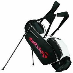 New TaylorMade Golf 5.0 Stand Bag - Black/White/Red