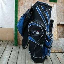 New Michelob Ultra Golf Bag Stand up 14 Way Divider 1-Strap