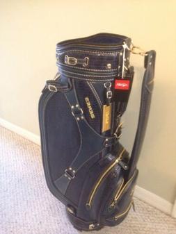 "NEW Honma Golf Caddy Bag BERES CB-1814 Mens Navy 9"" 5 way di"