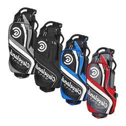 New Cleveland Golf Cart Bag 14-Way Divider 3-Way Grab Handle
