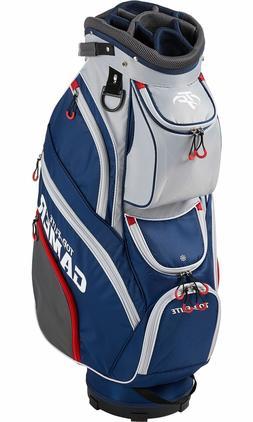 New Golf Cart Bag Top Flite Gamer Mens 2019 14-Way Divider -