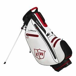 New Wilson Golf- Dry Tech Carry Bag White