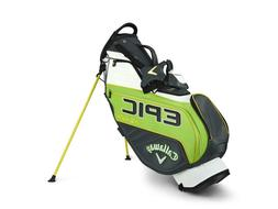 New Callaway Golf Epic Flash Staff Double Strap Stand Bag -