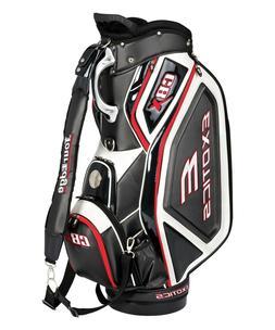 NEW* Tour Edge Golf Exotics CBX Staff Bag 4-way Top Black /