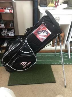 New Tour Edge Golf Exotics Extreme 3 Stand Bag Black/Red