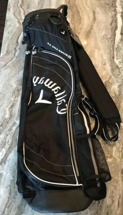 NEW CALLAWAY GOLF HYPER LITE 2.5 SUNDAY GOLF CARRY BAG WITH