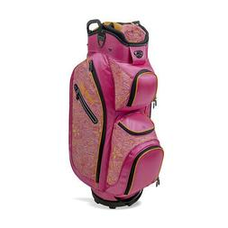 new golf ladies ldx cart bag pink