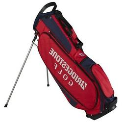 NEW Bridgestone Golf Lightweight Stand / Carry Bag 4-way Top