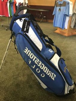 NEW Bridgestone Golf Lightweight Stand / Carry Bag -Blue Swe