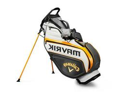 New Callaway Golf- Mavrik Staff Stand Bag Single Strap Charc