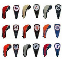 NEW Team Effort Golf MLB Baseball Team Head Covers w/ Shaft
