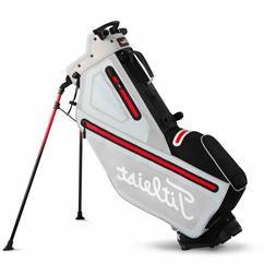 New Titleist Golf Players 4 StaDry Stand Bag Microchip Black