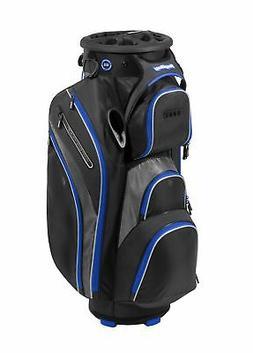 New Bag Boy Golf- Revolver XP Cart Bag Black/Charcoal/Royal