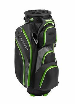 New Bag Boy Golf- Revolver XP Cart Bag Black/Charcoal/Lime