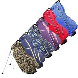NEW Ouul Golf Ribbed Stand / Carry Bag 5-Way Top - Pick a Co