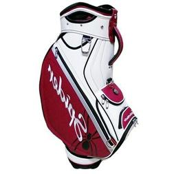 NEW TaylorMade Golf Spider TP Staff Bag 2019 Dark Red / Whit