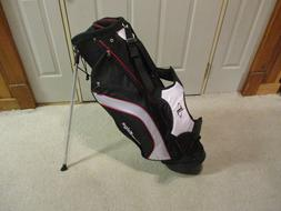 New Tour Edge Golf Stand Bag Black/White/Red