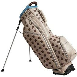 NEW Ouul Golf Sterling Collection Stand Bag 5-Way Top - Ligh