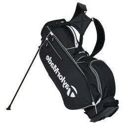 NEW TaylorMade Golf TM17 5.0 Stand Bag 4-way Top Black / Whi