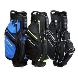 "NEW PowerBilt Golf TPS Cooler Cart Bag 9.5"" 15-way Top - Pic"