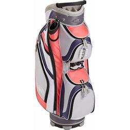 New Top Flite Golf Women's Flawless Cart bag Pink 14 Way Div