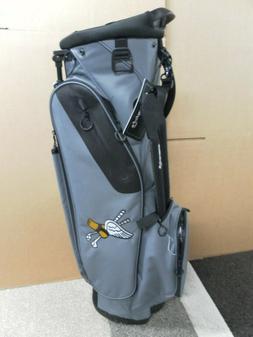 NEW TaylorMade Gray Flextech Lite Stand Bag - WINGFOOT Logo