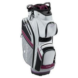 New Maxfli Honors + Plus Ladies Golf Cart Bag 14 Way Top Gre