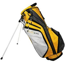 New Hot-Z Golf 2018 3.0 Stand Bag Yellow/Gray/White