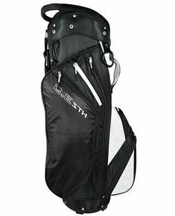 New Hot-Z Golf 2018 3.5 Cart Bag Black/White