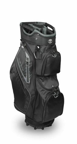 New Hot-Z Golf 2020 5.0 Cart Golf Bag Black Gray