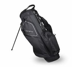 New Hot-Z Golf 3.0 Stand Bag Black/Gray (Zip Off Pocket