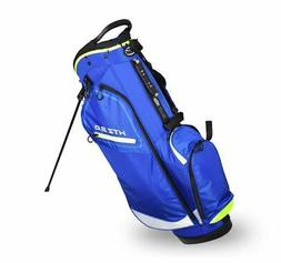 New Hot-Z Golf 3.0 Stand Bag Blue/Lime