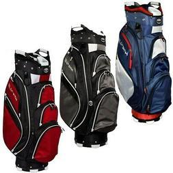 "NEW Hot-Z Golf 4.5 Cart Bag 9.5"" 14-Way Top - Pick the Color"
