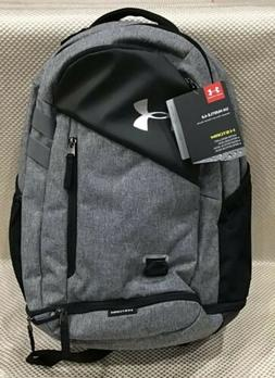 New Under Armour Hustle 40 Backpack Black/GRAPHITE HEATHER S