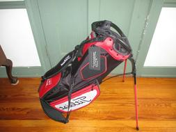 New Titleist Hybrid 14 Stand Golf Bag - Black - Red - White