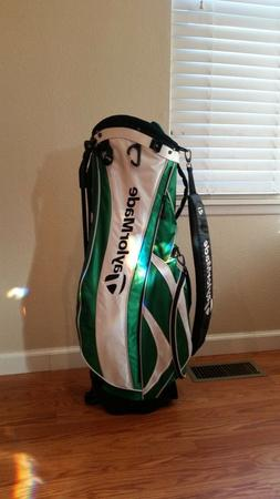New! TAYLORMADE IRISH GREEN GOLF BAG  Free shipping!