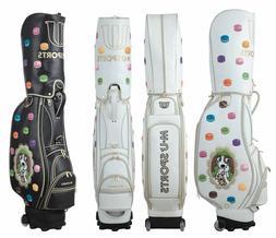New MU Sports Japanese Brand Golf Wheeled Cart Bag - 703R610
