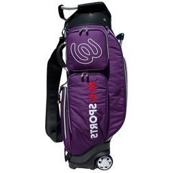 New MU Sports Japanese Brand Golf Wheeled Cart Bag - 703V710