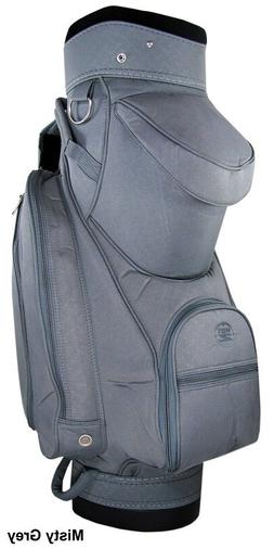 NEW LADIES HOT Z DELUXE GOLF CART BAG MISTY GRAY  / MADE IN