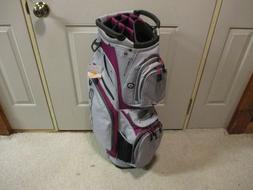New Ladies Cobra Lightweight Golf Cart Bag Purple & Charcoal
