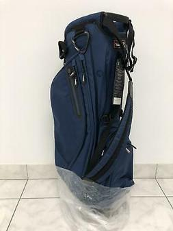 NEW Titleist Lightweight Stand Bag - Navy - 2 Sided Custom P