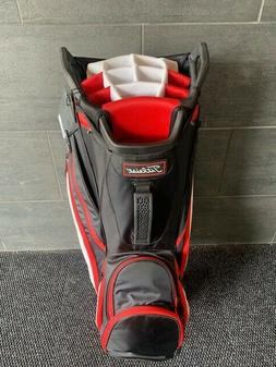 NEW! Titleist LW Cart Bag TB9CT6E-016 Black/White/Red 14 Way