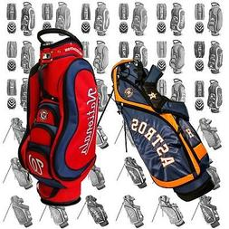 NEW Team Golf Medalist Cart or Nassau Stand Bag MLB - Pick Y
