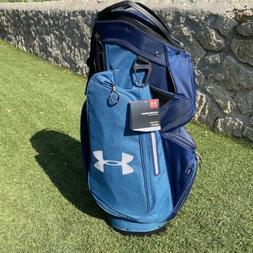 NEW Mens Under Armour Armada Golf Club Cart Bag 14  Way Blue