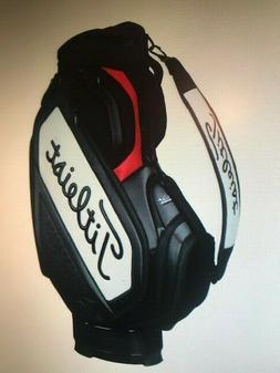 NEW Titleist  Midsize Staff Golf Cart Bag - Black - TB7SF4-0