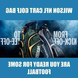 New Wilson NFL Cart Golf Bag  -  Pick Your Team