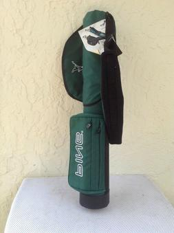"""New Old Stock PING Moon """"Sunday"""" Green Golf Bag NWT w/ H"""